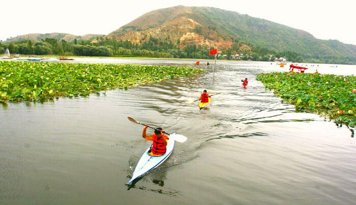 Kayaking   adventures by WanderTrust